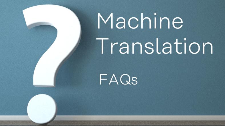 Machine Translation auf einen Blick