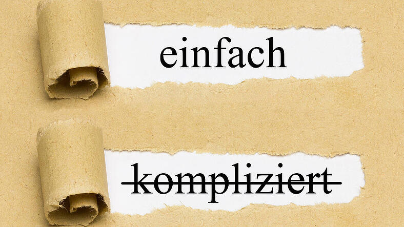 Keep it simple! – schon beim Kick-off