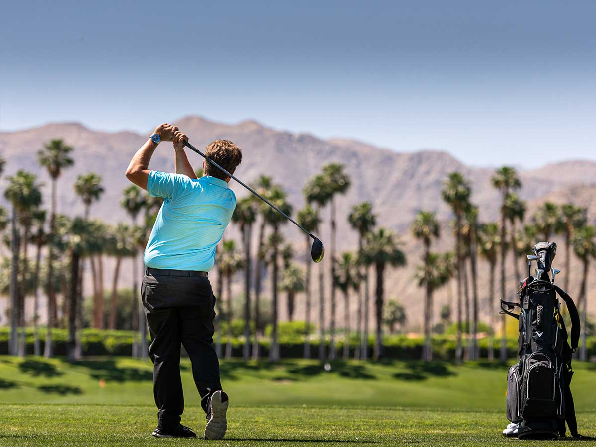 A Private Golf Course in the Palm Springs area