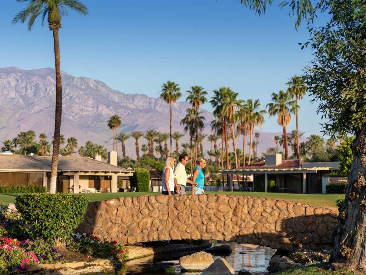 Desmond Muirhead designed golf course in Rancho Mirage