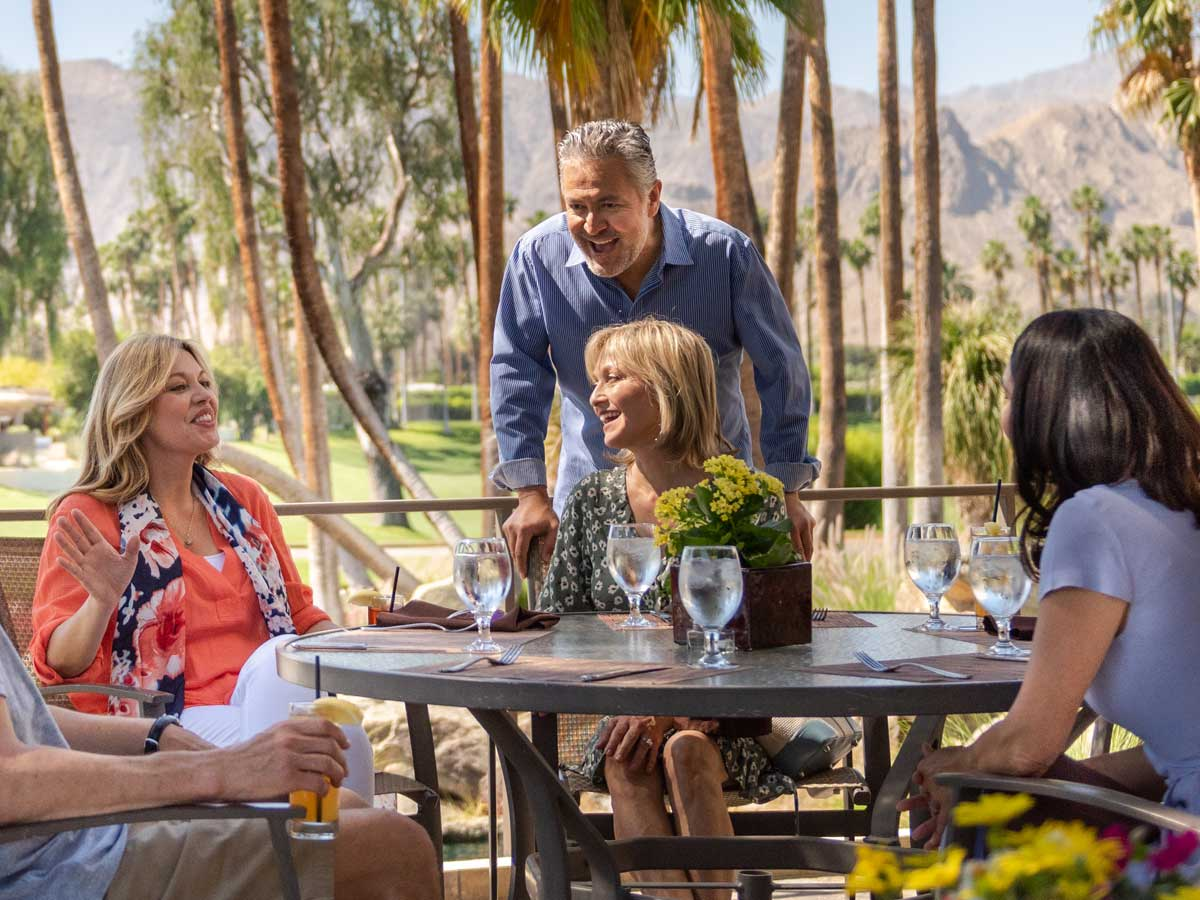 Dining with Friends at The Springs Country Club in Rancho Mirage