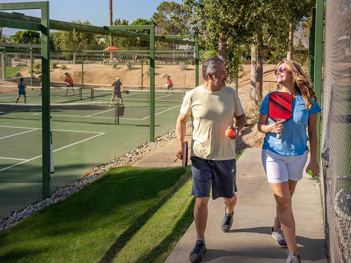Private Tennis Courts in Rancho Mirage, CA