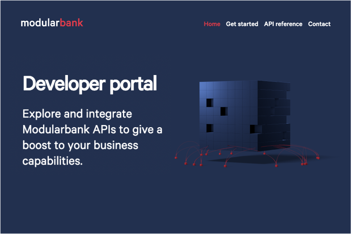 Modularbank Launches Developer Portal