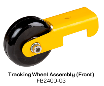 FB2400-03 Tracking Wheel Assembly (Front)