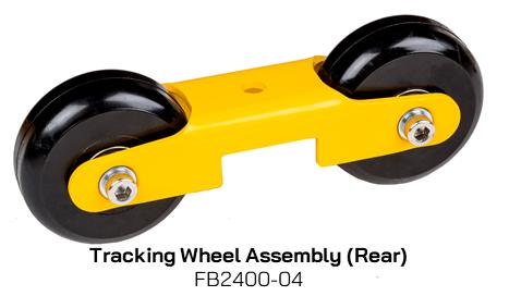FB2400-04 Tracking Wheel Assembly (Rear)