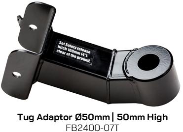 FB2400-07T Tug Adaptor 50mm Diameter, 50mm High