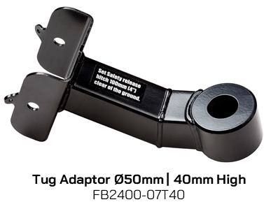 FB2400-07T40 Tug Adaptor 50mm Diameter, 40mm High