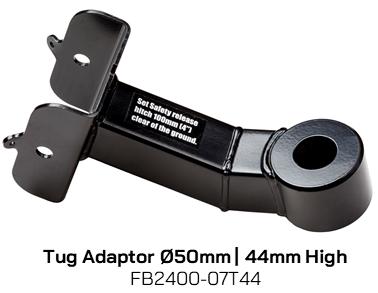 FB2400-07T44 Tug Adaptor 50mm Diameter, 44mm High