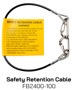 FB2400-100 Safety Retention Cable