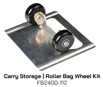 FB2400-112 Carry Storage Roller Bag Wheel Kit