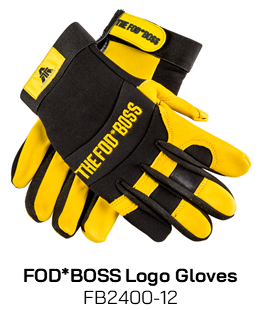 FB2400-12 FODBOSS Logo Gloves