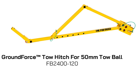 FB2400-120 GroundForce Tow Hitch
