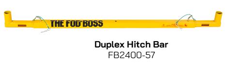 FB2400-57 Duplex Hitch Bar