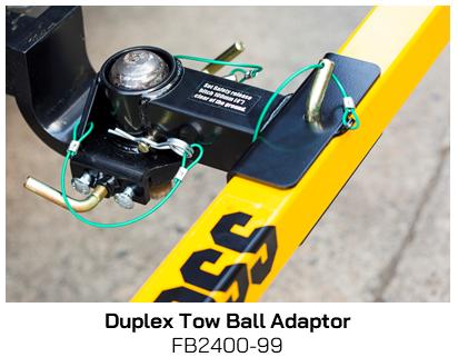 FB2400-99  Duplex Tow Ball Adaptor