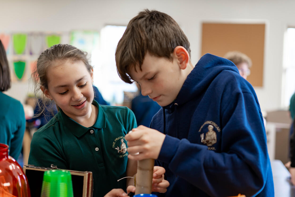 Science with Life Skills at The Franciscan School