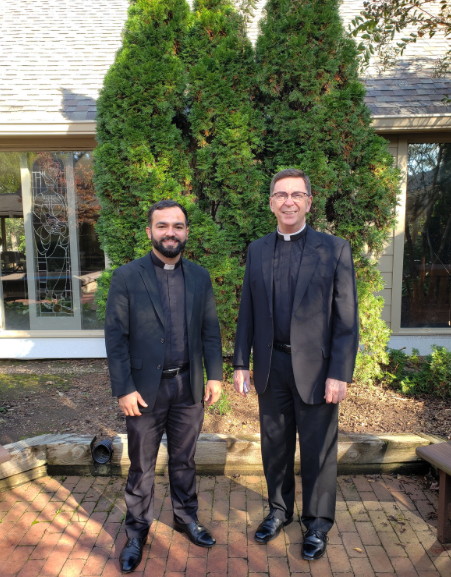 Say Hello To The New St. Francis Parish Priests