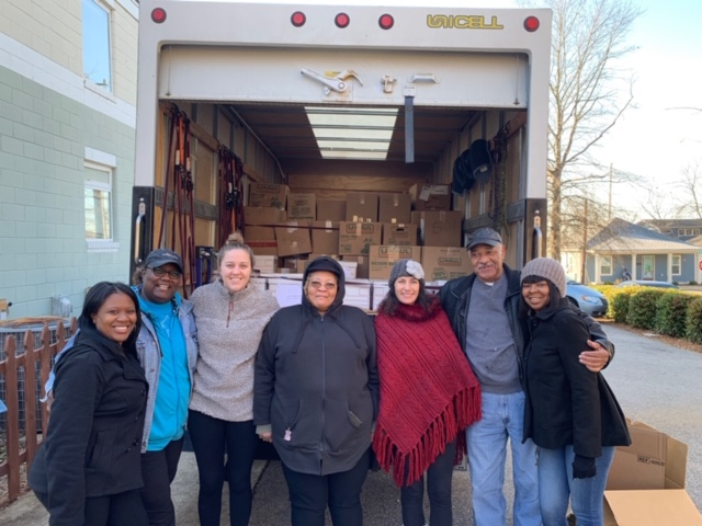 Love and Service Go Hand in Hand: TFS Annual Passage Home Drive