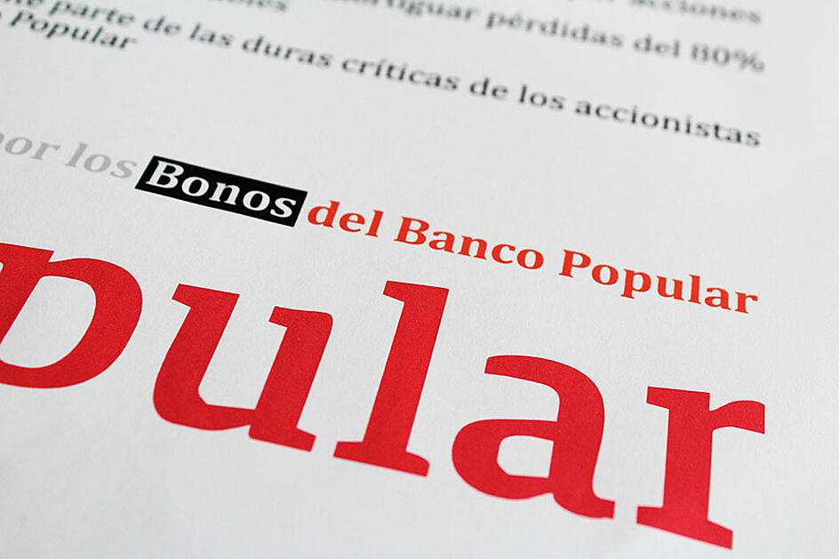 Bonos Convertibles Banco Popular