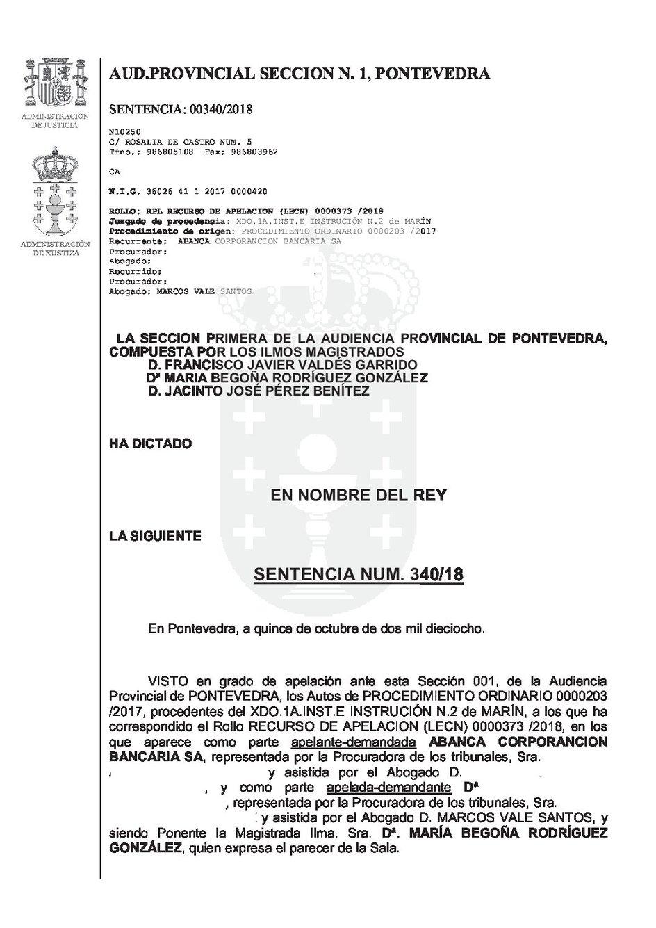 SENTENCIA CLAUSULA SUELO EN HIPOTECA ANTIGUA ANTERIOR A DIRECTIVA 1993