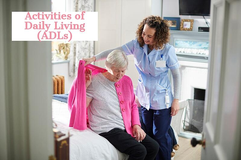 What are Activities of Daily Living?
