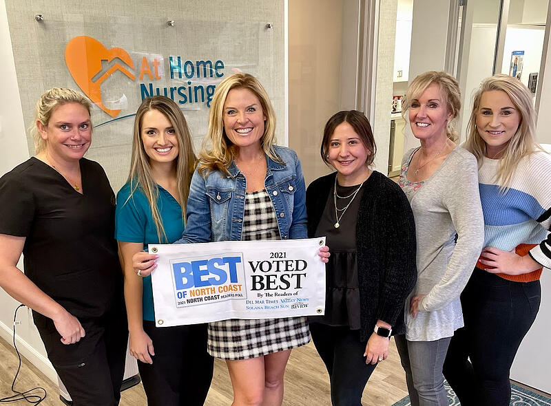 At Home Nursing Care Wins Best in North Coast for 5th Time