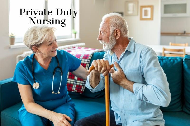 Private Duty Nursing Bridges the Homecare Gap