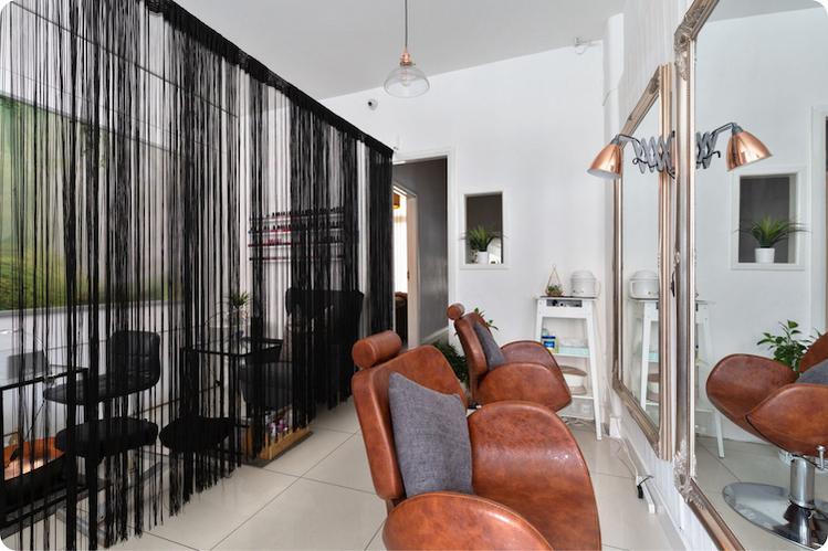 Voltas spa and salon interior