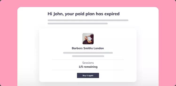 paid plan expiry date Fresha