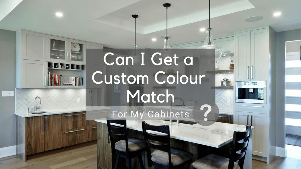 A custom kitchen design by Deslaurier Custom Cabinets