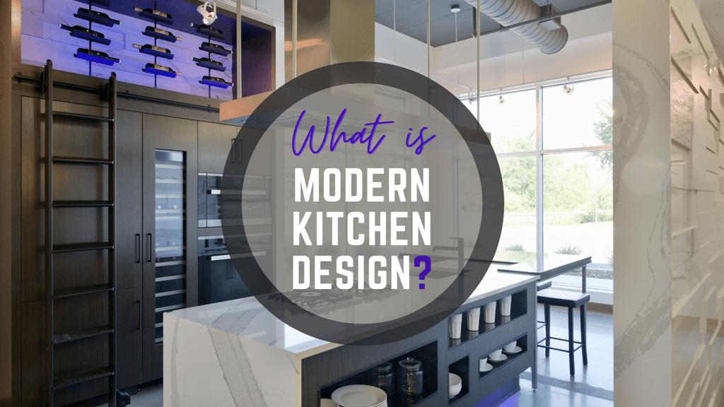 A modern kitchen design by Deslaurier
