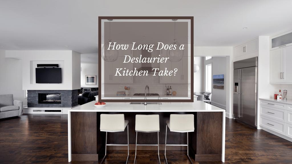 A warm, natural kitchen design by Deslaurier.