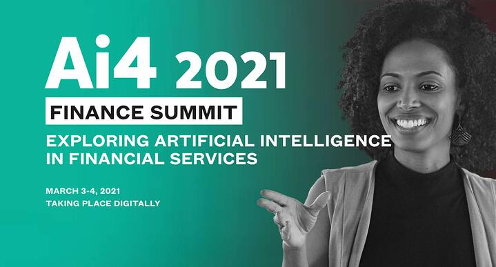 aisot presenting at Ai4 Finance Summit
