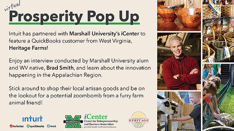 iCenter and Intuit partner to present Virtual Prosperity Pop Up to Marshall and Intuit communities