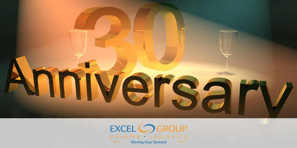 Excel Courier Celebrates 30 years of Service! | Excel Courier