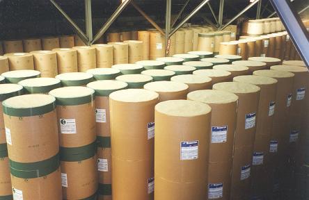 Paper Warehousing Rolled Paper Warehousing Paper