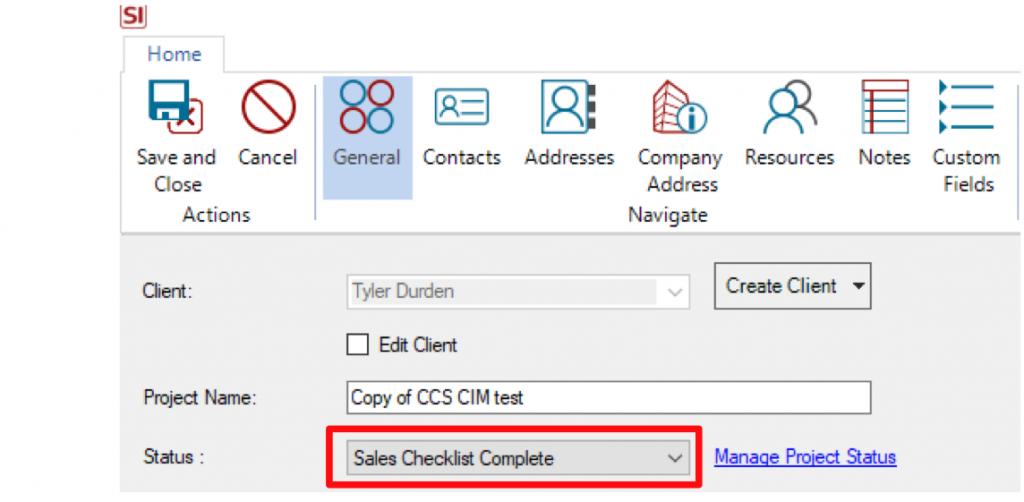 Sales Checklistc