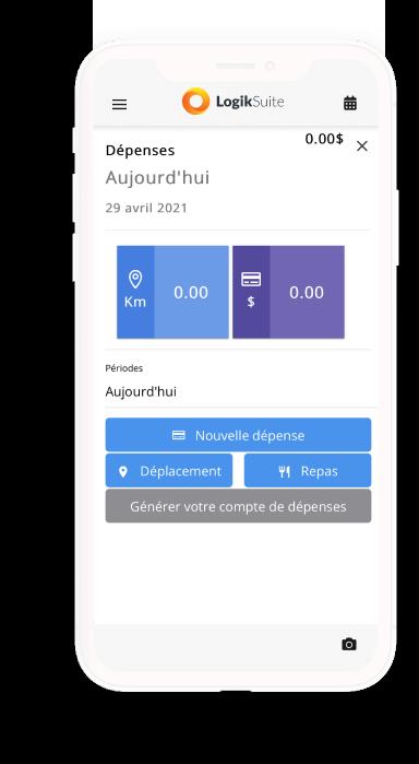 Comptes de dépenses des employés -App