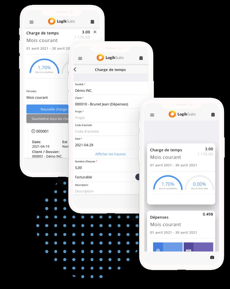 logiciel gestion ressources humaines - Application mobile