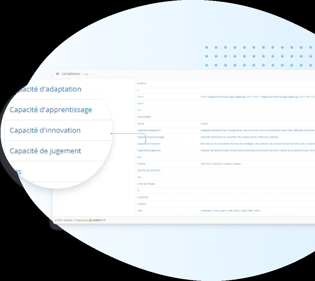 Evaluation de performance - competences