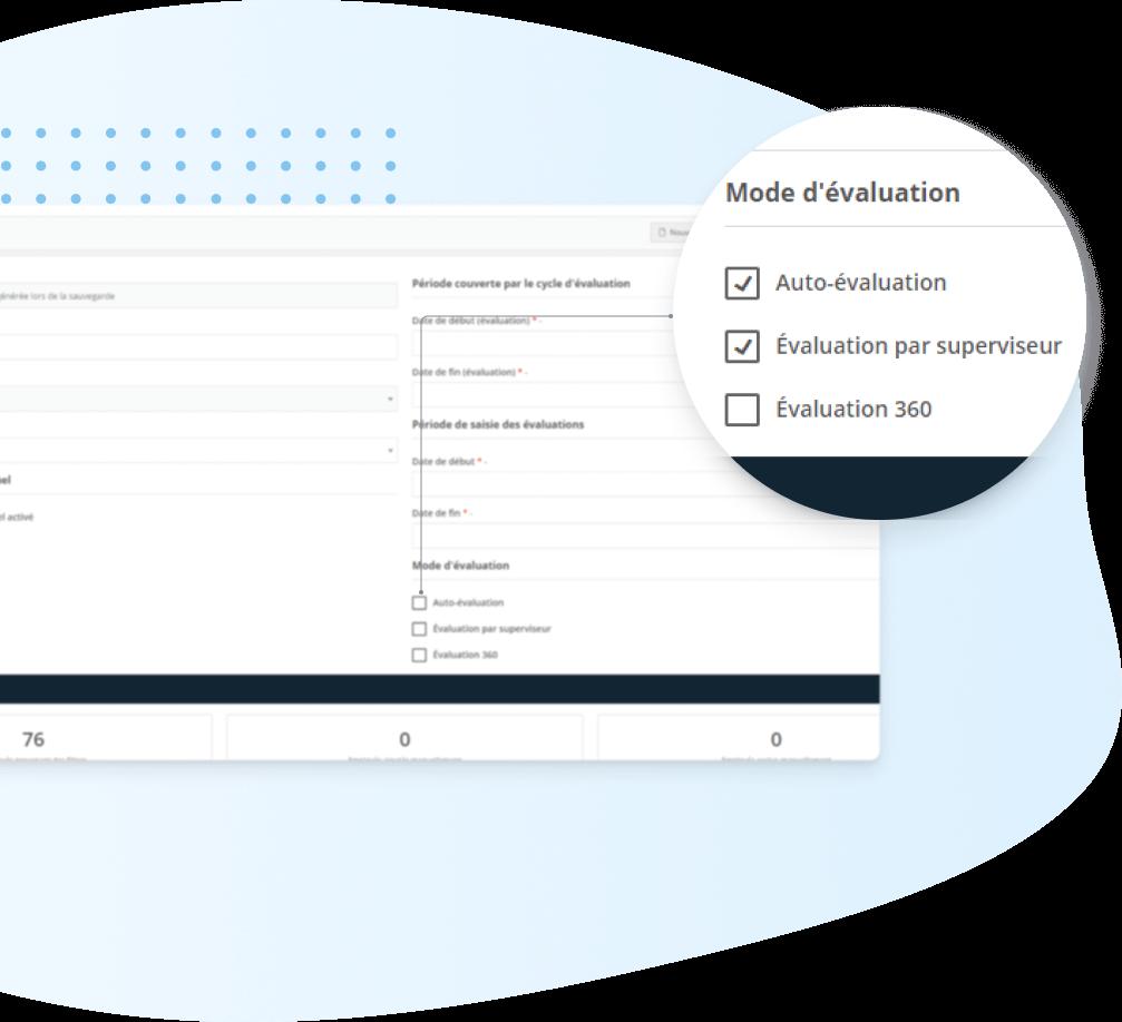 Evaluation de performance -personnaliser