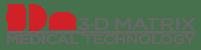 3-D Matrix logo (Red)