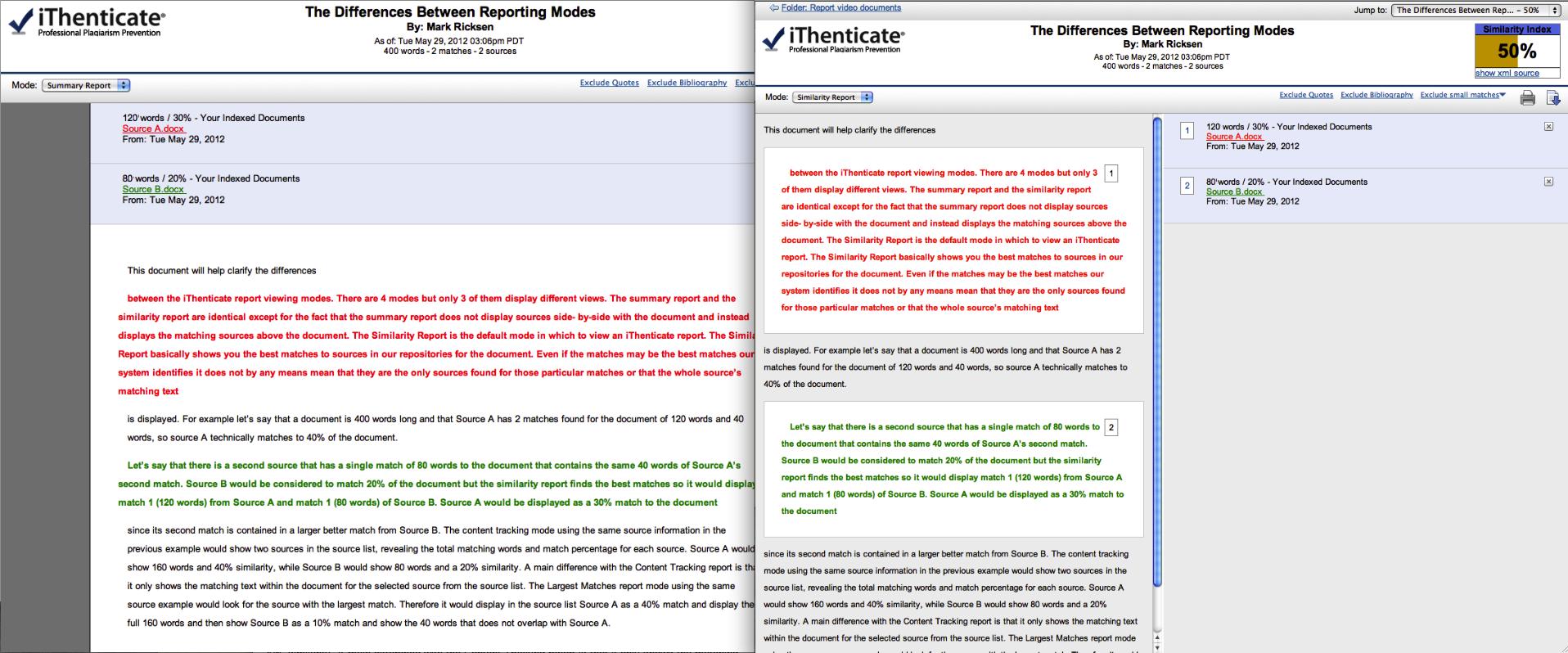 plagiarism detection software training report comparison sumandsim