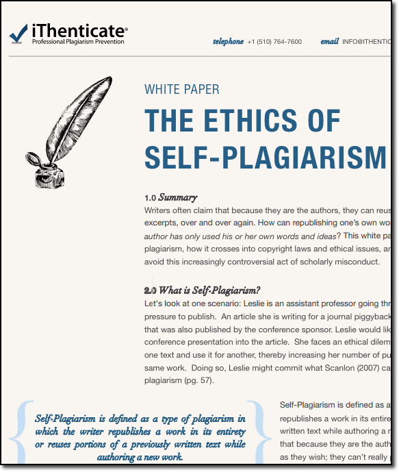 Why Plagiarism Is a Serious Violation?