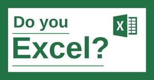 Do you Excel?