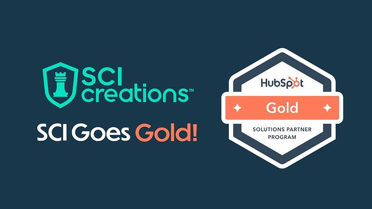 SCI Creations Becomes a HubSpot Gold Solutions Partner