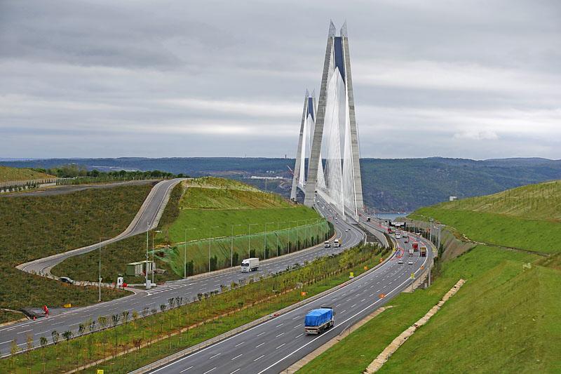 yavuz sultan selim köprüsü-ulaşım yapıları-...........5