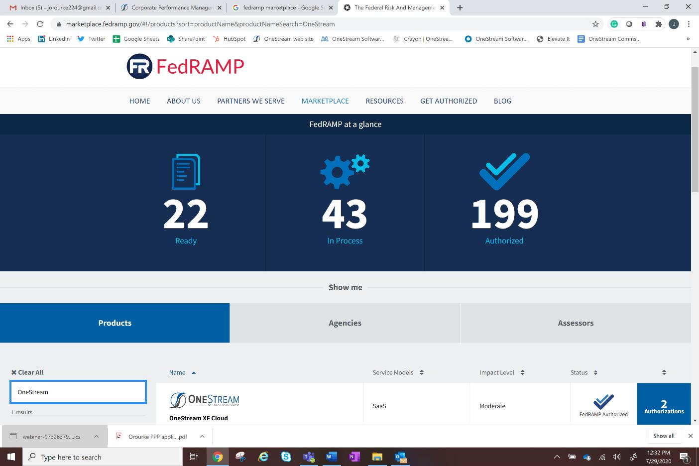 FedRAMP screenshot