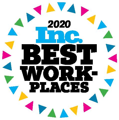Inc. Best Workplaces 2020 - Standard Logo