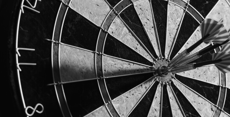 dartboard precision