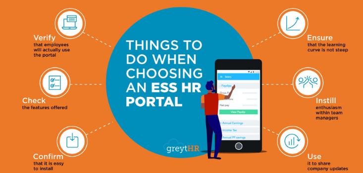 The right ESS HR portal